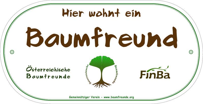 Baumfreunde Zauntafel