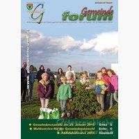 Titelseite Gemeindezeitung 2-2014