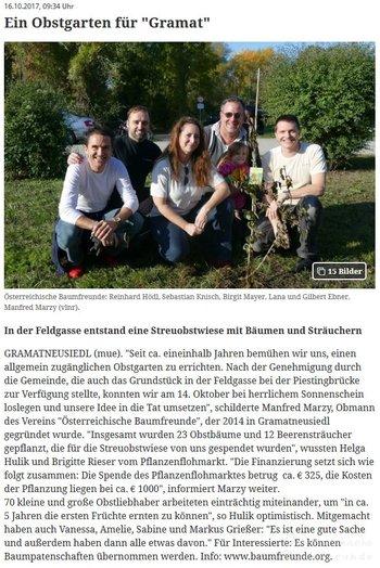 Obstgarten Gramat