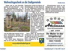 Baumpflegeaktion Ebreichsdorf