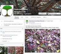 Baumfreunde goes Facebook