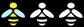 Symbol Bienenweide Mäßig geeignet